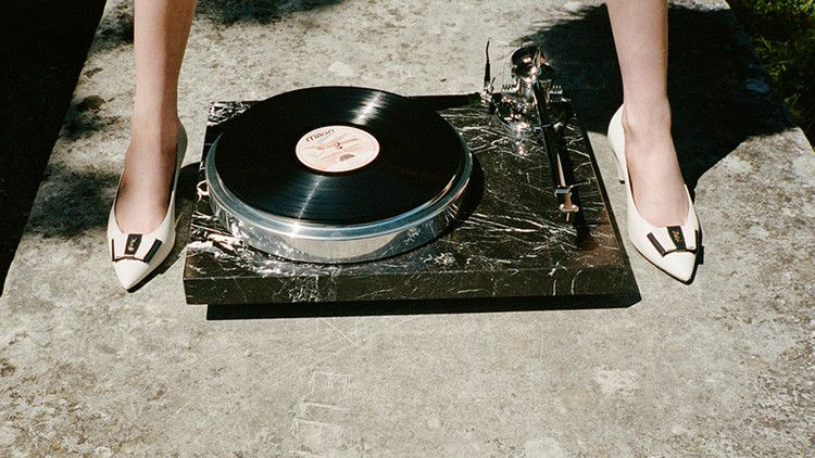 Saint Laurent Now Offers a $44,000 Marble Turntable Designed by a French Music Master