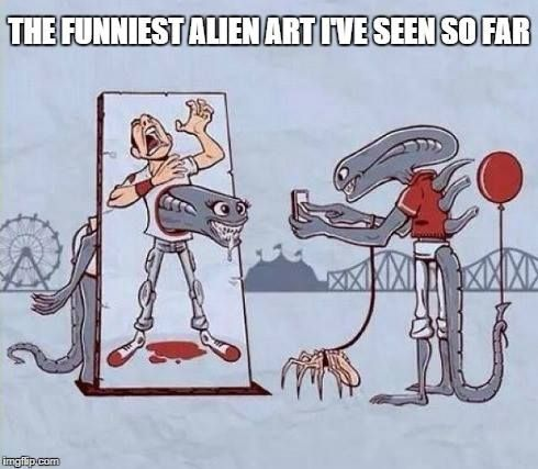 ALIEN'S DAY OUT!!! XD