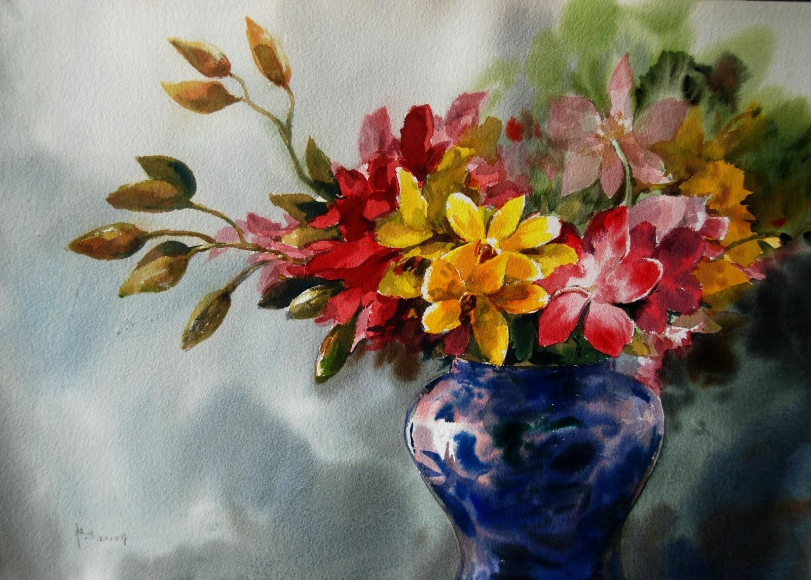Watercolor artists names - Famous Watercolor Paintings Jhp Gallery Painting
