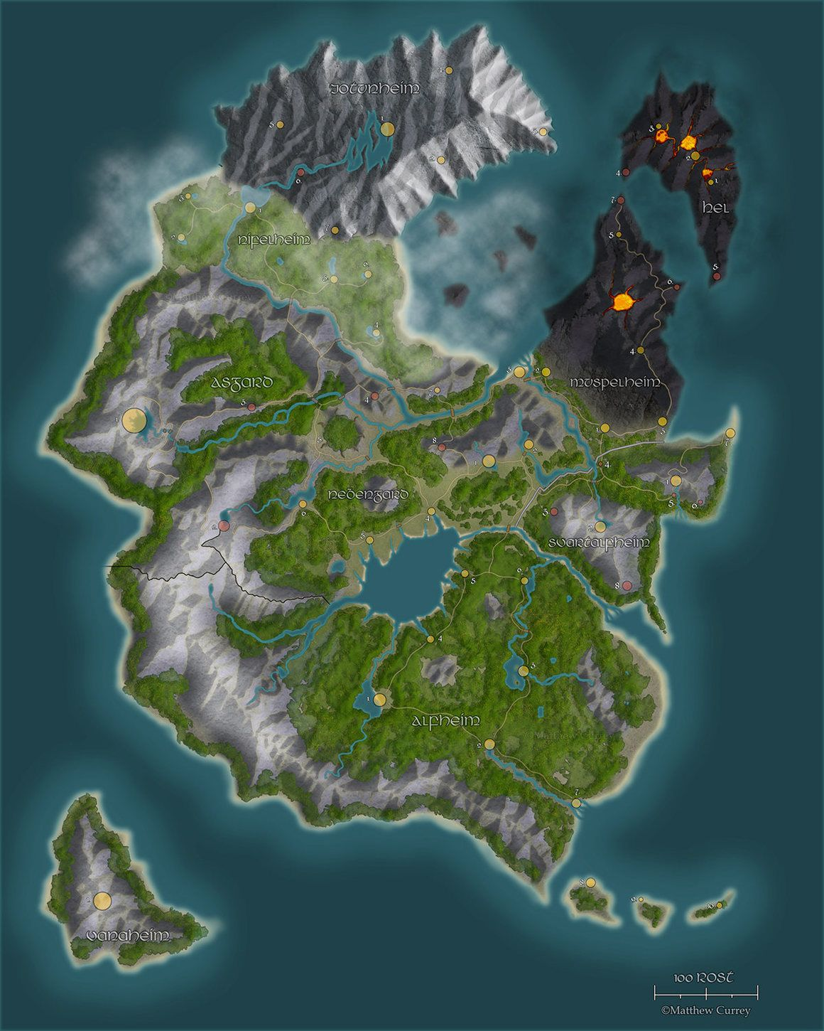 24 Amazing, Homemade Dungeons & Dragons Maps | DnD | Fantasy world on