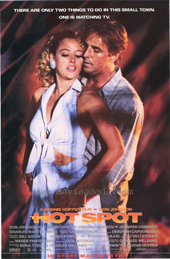 THE HOT SPOT Movie POSTER 27x40 Don Johnson Virginia Madsen Jennifer Connelly