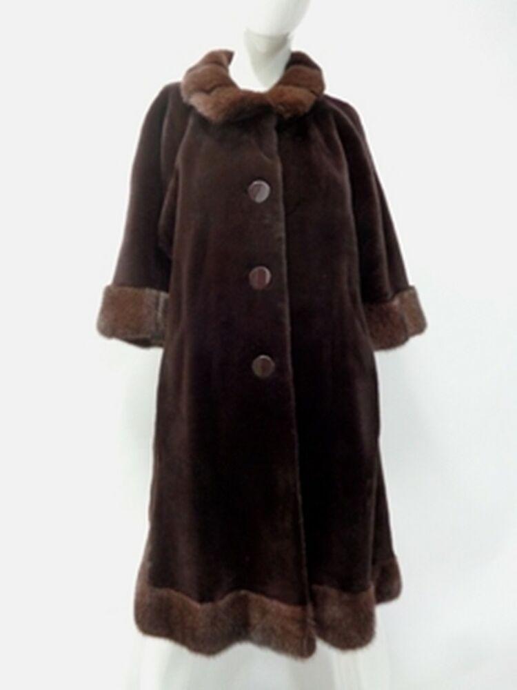 fad832aff eBay #Sponsored SHOWROOM NEW BROWN SHEARED MINK FUR COAT JACKET WOMEN WOMAN  SZ 4 SMALL