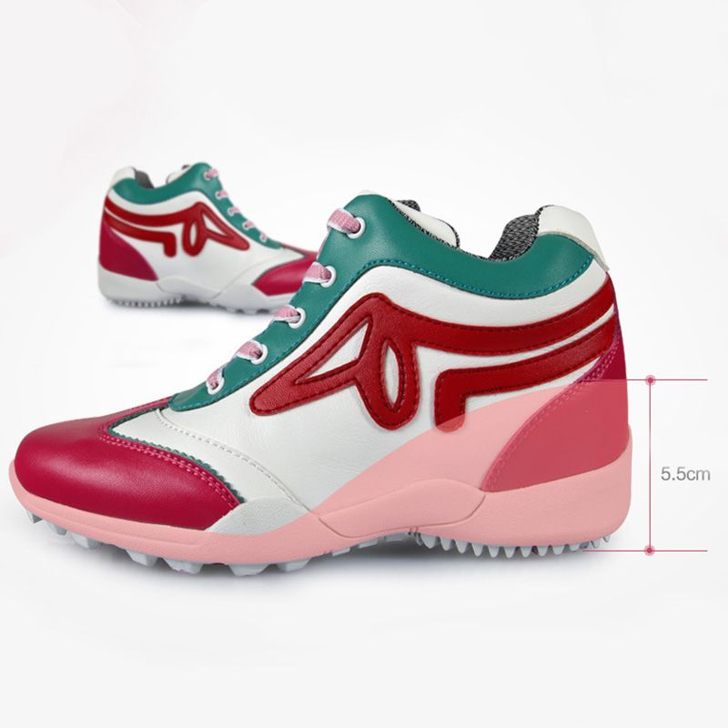 16e332899215 New Design Golf Shoes Ladies Footwear Breathable Mesh Women Shoes  Lightweight Golf Shoes Outdoor Sport Sneakers