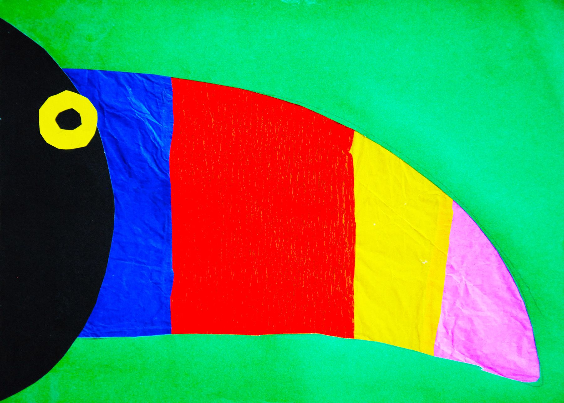 Stained Glass Toucan