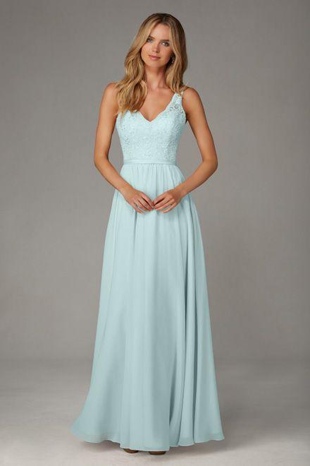 6c761eb94bef Style 122. Mori Lee   Mint Wedding   Bridesmaid dresses, Mori lee ...
