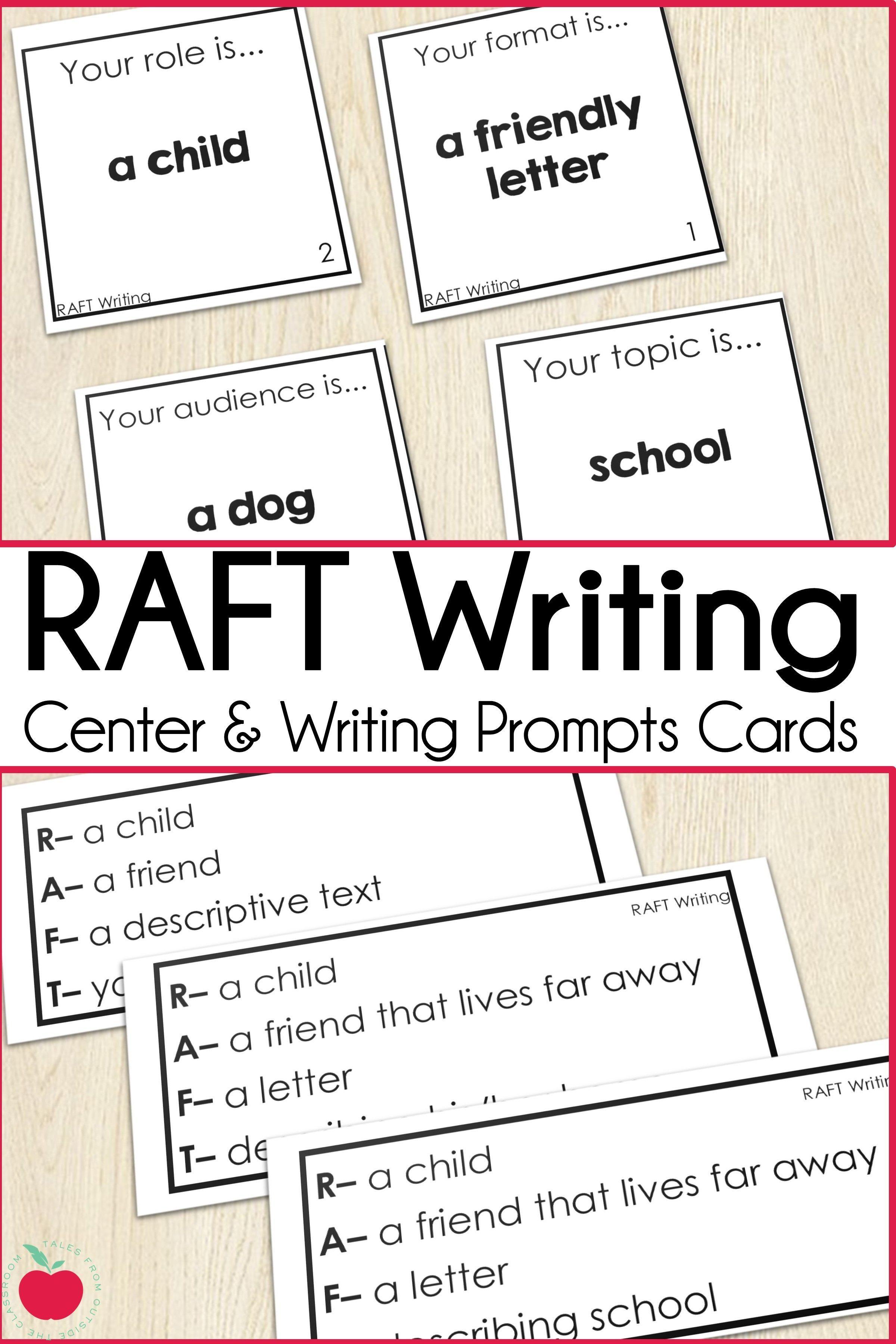 Raft Writing Cards Writing Center Teaching Writing Writing Strategies [ 3600 x 2400 Pixel ]