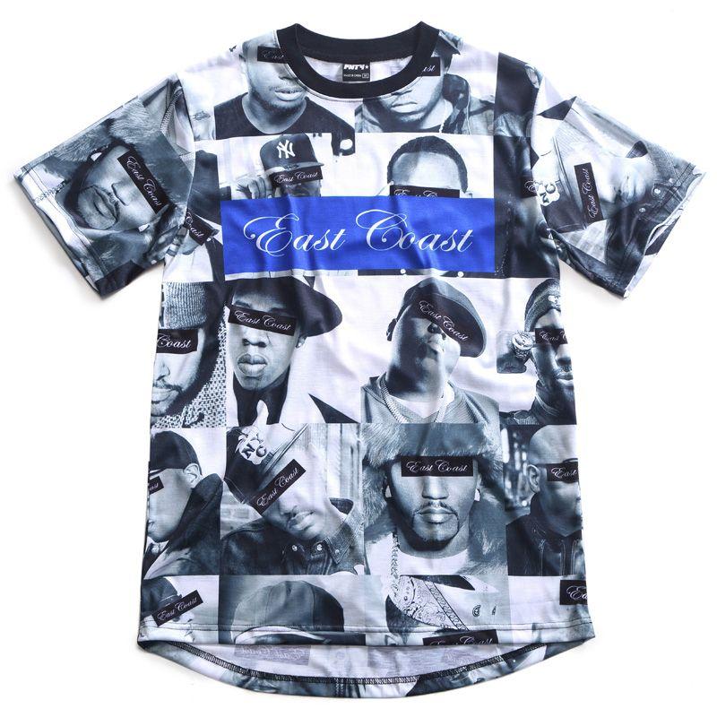 ترقية الهيب هوب طباعة تي شيرت Hip Hop Print Clothes Design Clothes