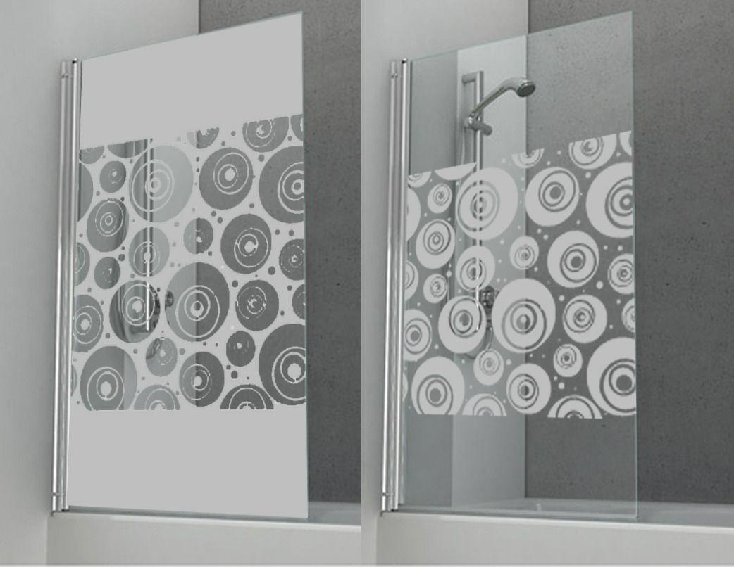 Vinilos esmerilados para mamparas y vidrios esmerilado - Vinilos decorativos cristal ducha ...