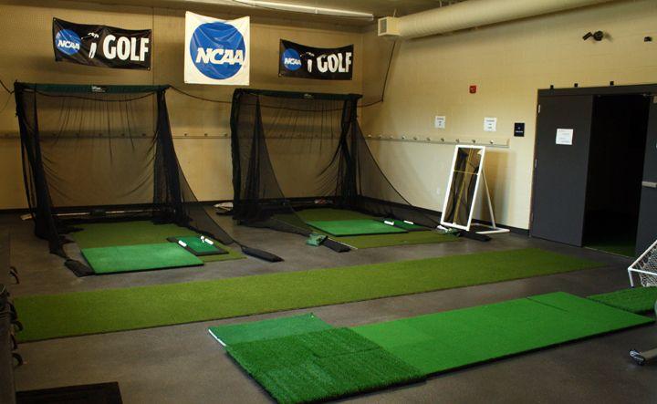 Augustana College Indoor Golf Nets The Net Return