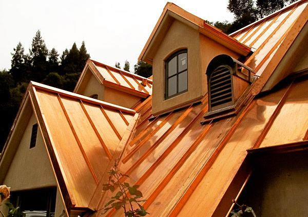 Copper Org Application Areas Architecture Featured Projects Architecture Architectural Features Metal Roof