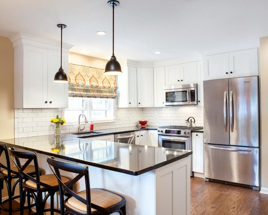 10 x 10 kitchen design ideas remodel pictures houzz for Houzz small kitchens