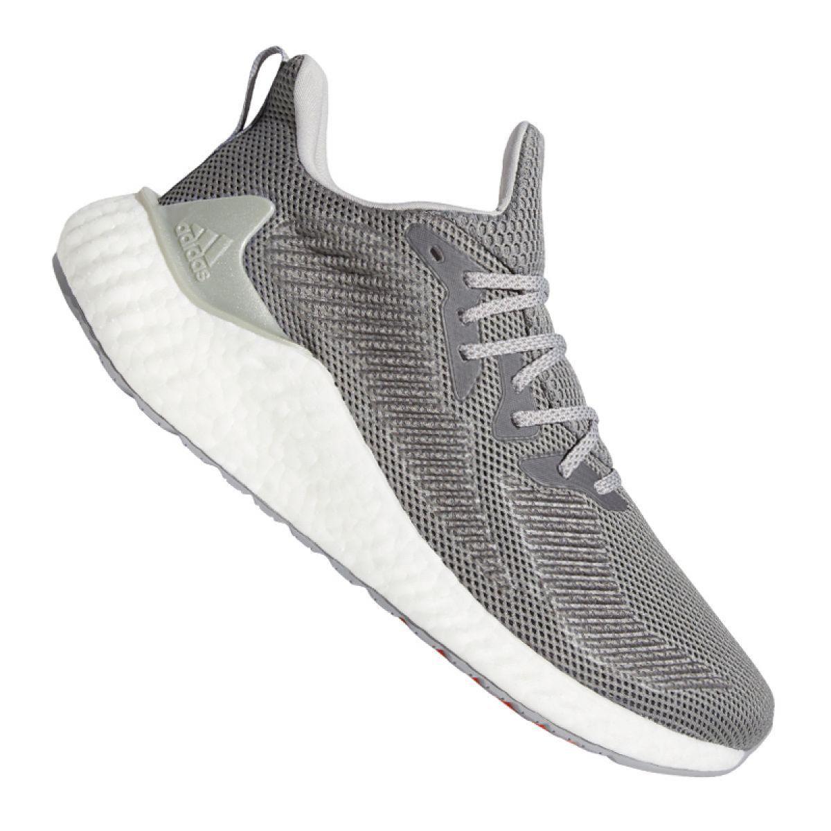 Buty Biegowe Adidas Alphaboost M G54129 Szare Adidas Running Shoes Saucony Running Shoes Running Shoes For Men