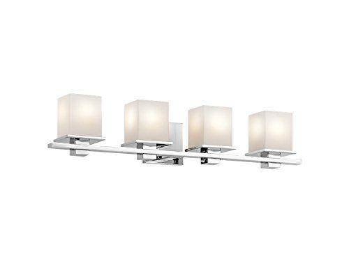 Best Bathroom Light Fixtures Kichler 45152ch Tully 4light Vanity