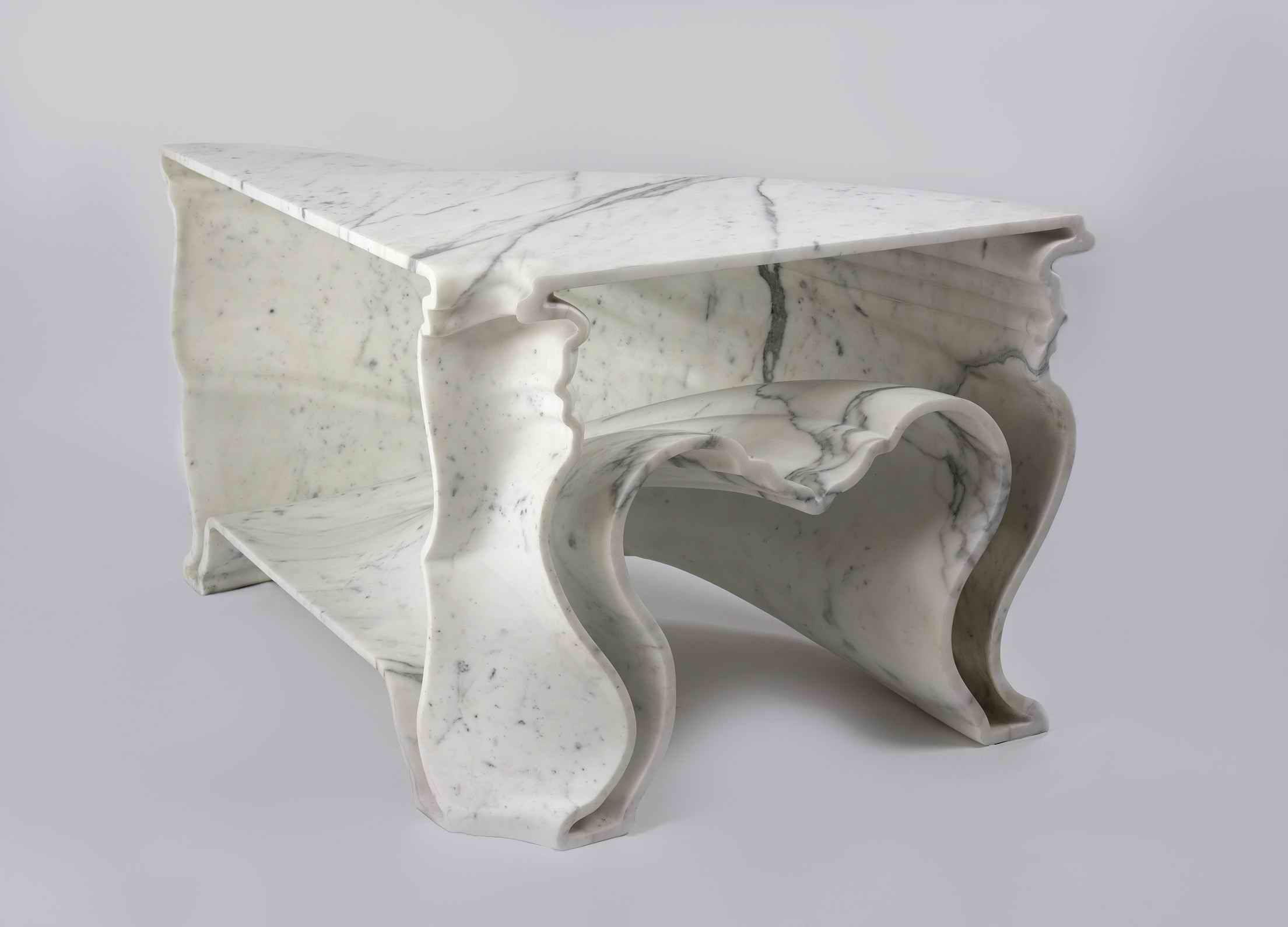 Wonderful White Marble U0027Cinderella Tableu0027 By Jeroen Verhoeven Awesome Design
