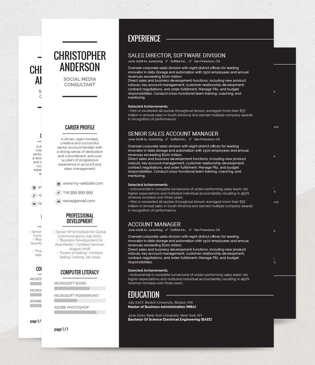 Resume Templates Resume templates, Resume, Templates
