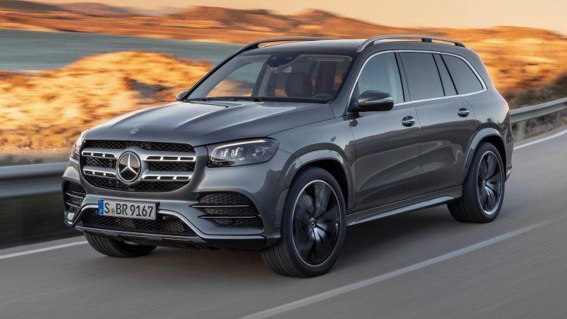 2020 Mercedes Benz Gls Is All New Debuts 4 0 Liter Biturbo V8