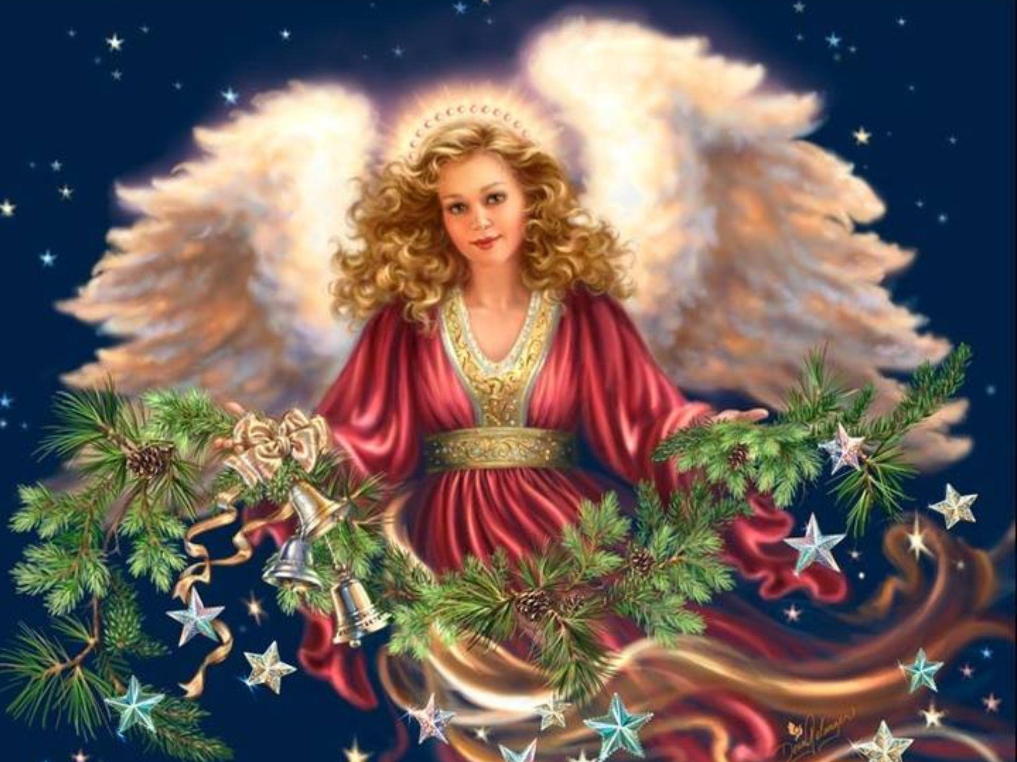 Christmas Angel Dona Gelsinger Artist Fantasy Pinterest