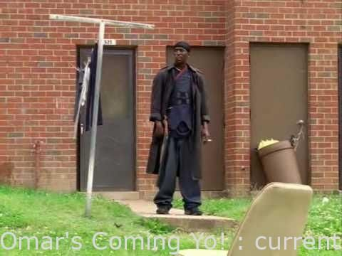 #Videos  - The Wire – Omar's Coming Yo! – raw #cute #funnyvideo #gif #trending