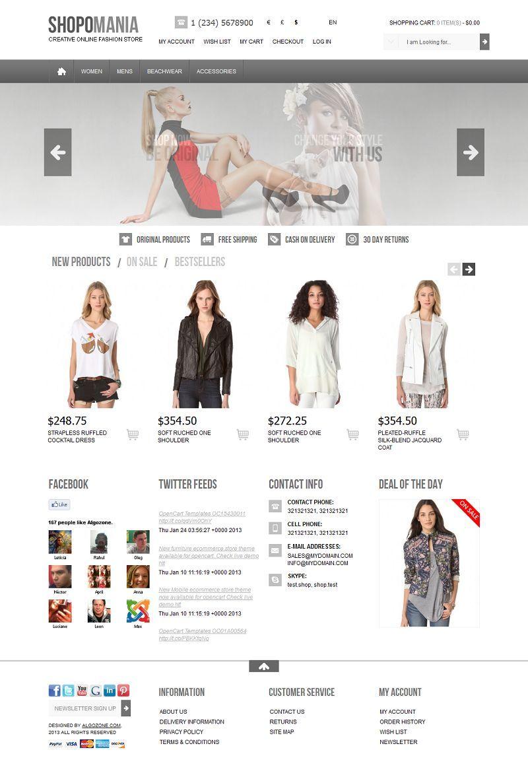 Oc15430011 premium opencart 15 fashion store template premium oc15430011 premium opencart 15 fashion store template pronofoot35fo Choice Image