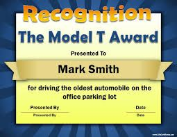 Image result for funny office certificates | Employee awards and ...