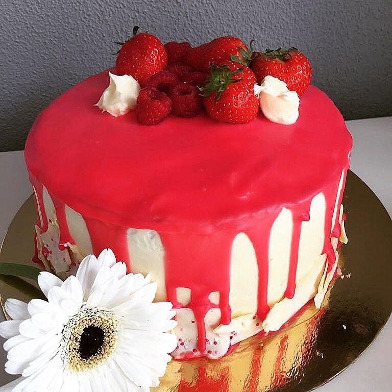 Zelf gemaakt drip cake