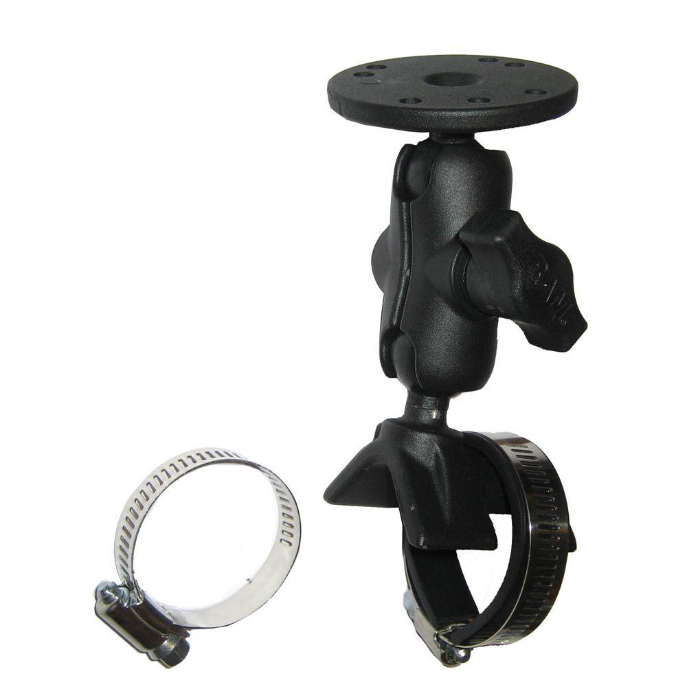 RAM Mount Strap Mount w/Short Arm & Round Base - https://www.boatpartsforless.com/shop/ram-mount-strap-mount-wshort-arm-round-base/