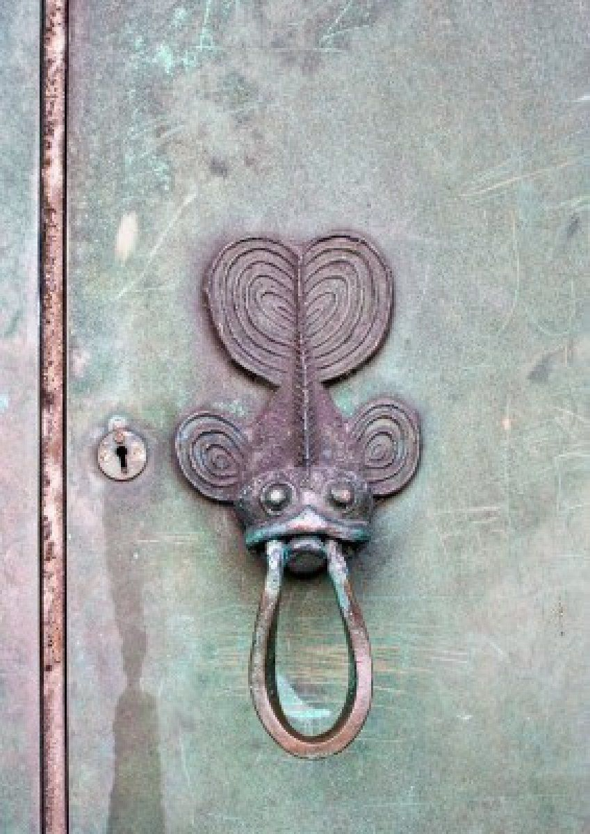 Image detail for -An Old Fish Door Knocker. Royalty Free Stock Photo ...