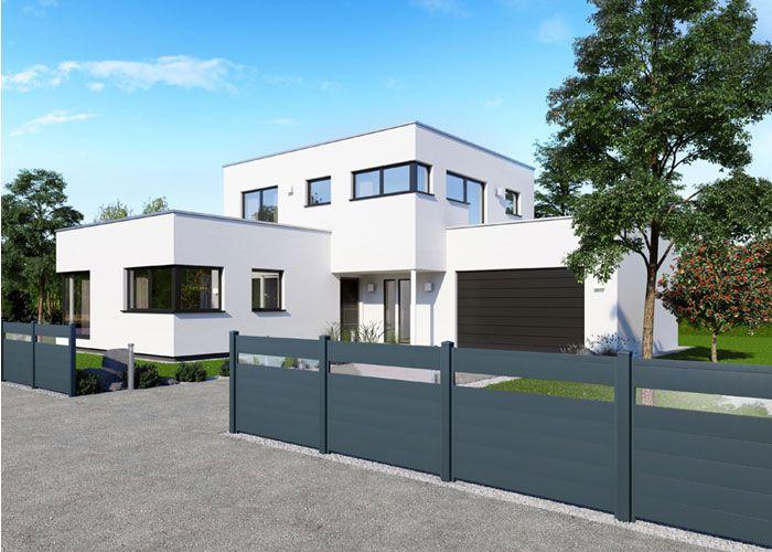 designer zaun aus alu auf wunsch mit glas kombinierbar alu zaun ambito garten balkon zaun. Black Bedroom Furniture Sets. Home Design Ideas