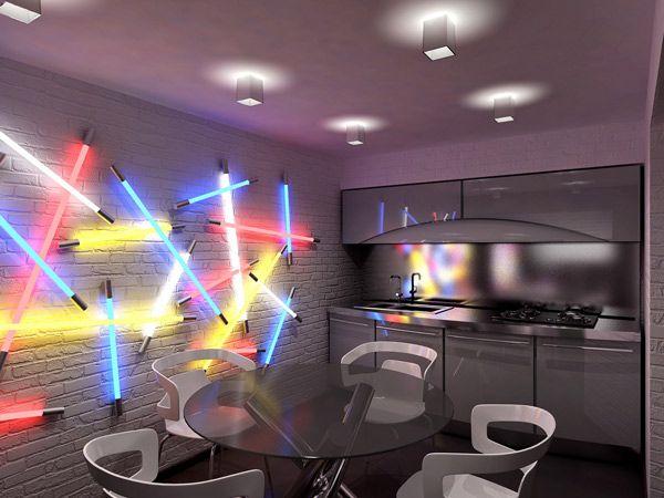 Creative Interior Design by Geometrix Design Lighting design