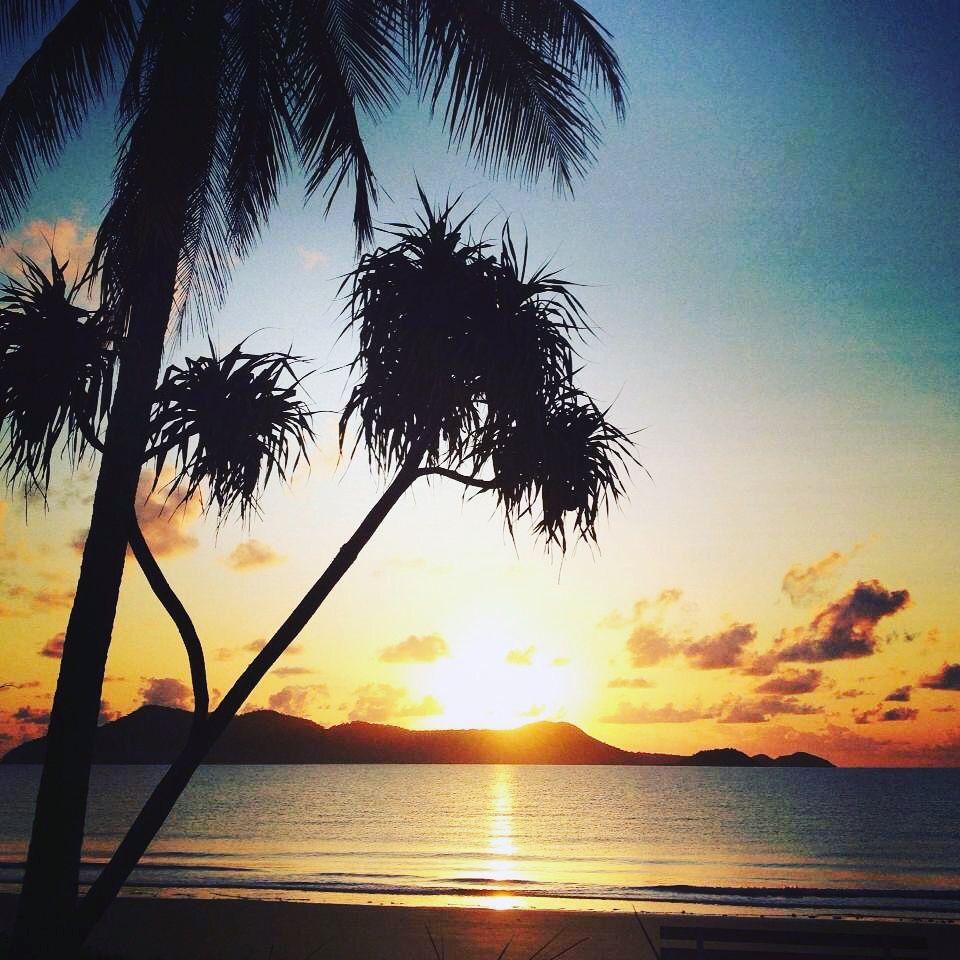 Dunk Island Australia: Dunk Island Sunrise Mission Beach #sunrise Www