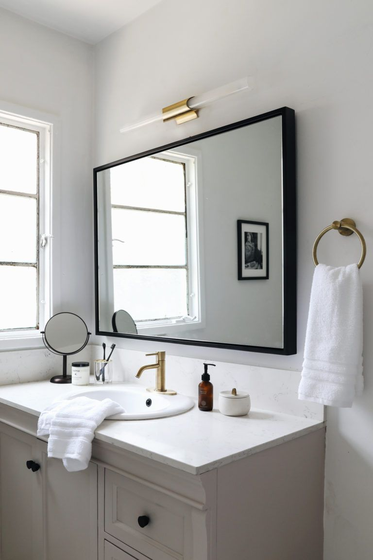 Photo of Weekend bathroom makeover with Boutique Hotel Vibes! – Anne Sage