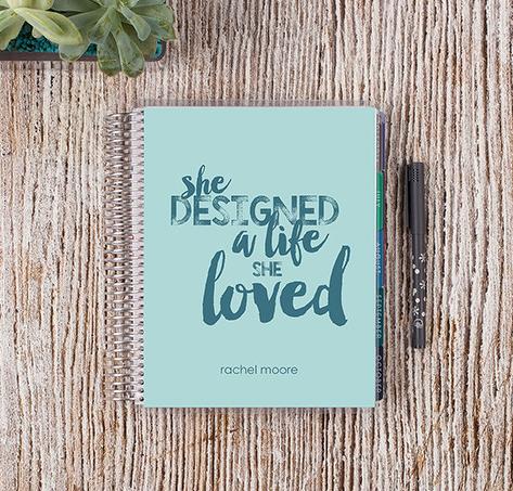 Erin Condren Life Planner - Life She Loved