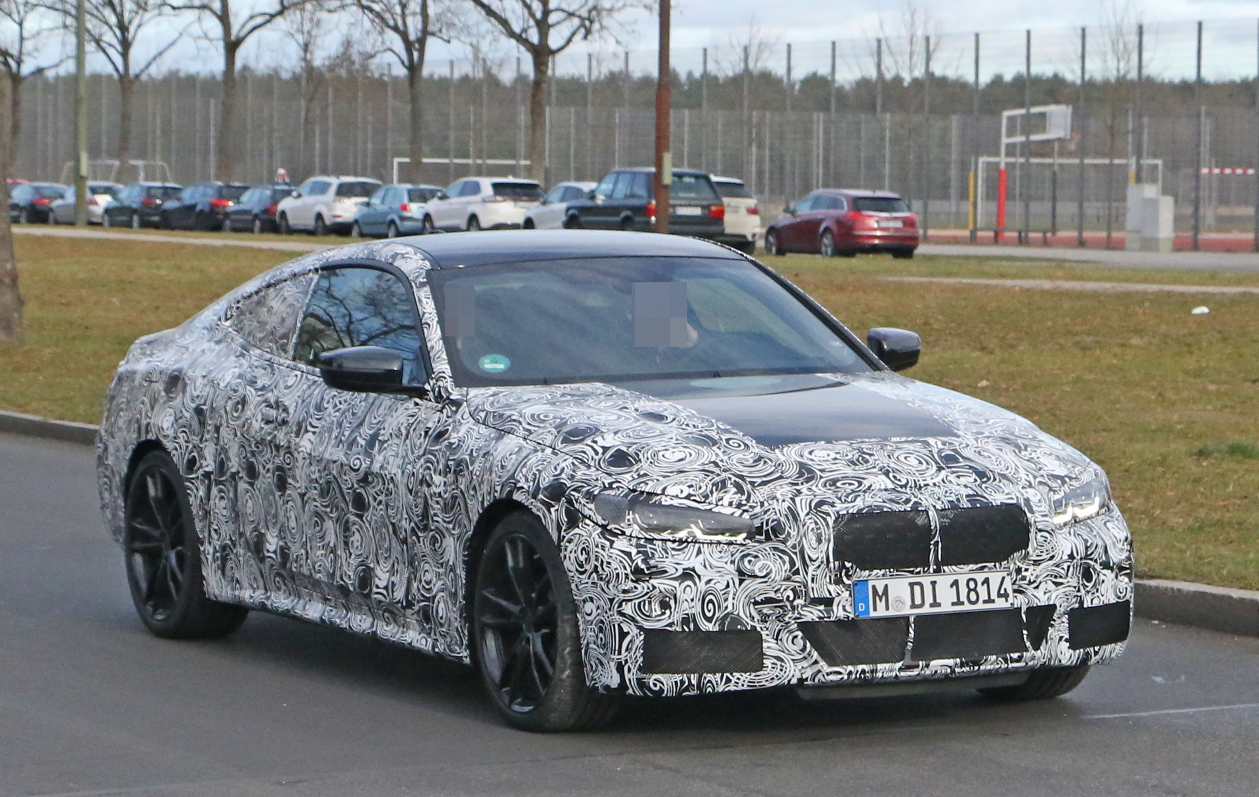 2021 Bmw 4 Series Coupe Spy Shots Speculative Review And A Fall