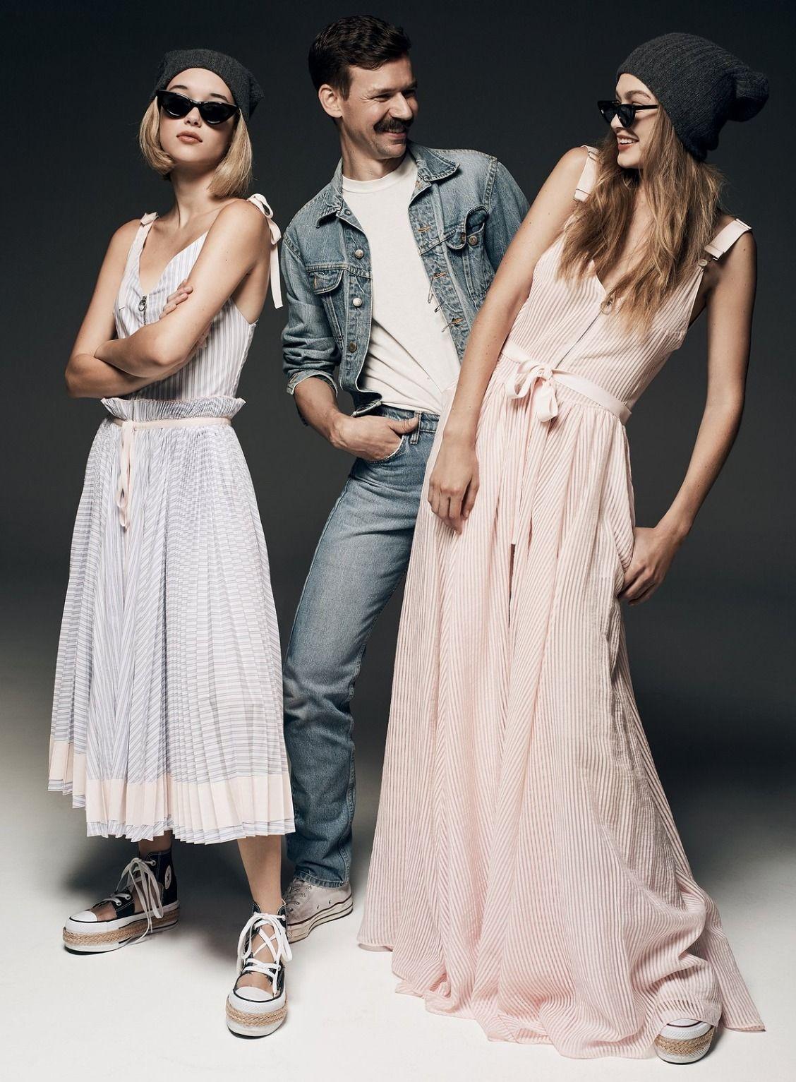 Gigi Hadid introduces the new class of CFDA/Vogue Fashion Fund designers: Adam Selman