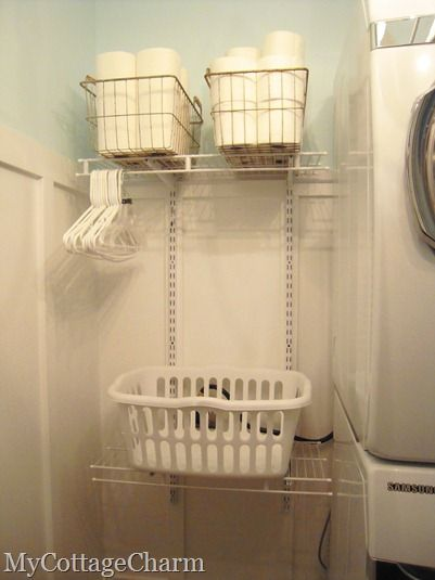 My Cottage Charm Laundry Room Storage Laundry Room Storage