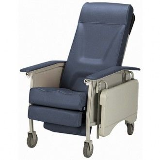 Invacare 3 Position Deluxe Reclining Geri Chair Recliner Chair Chair Recliner