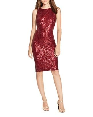 2824b175cc5a Lauren Ralph Lauren Sequin Dress