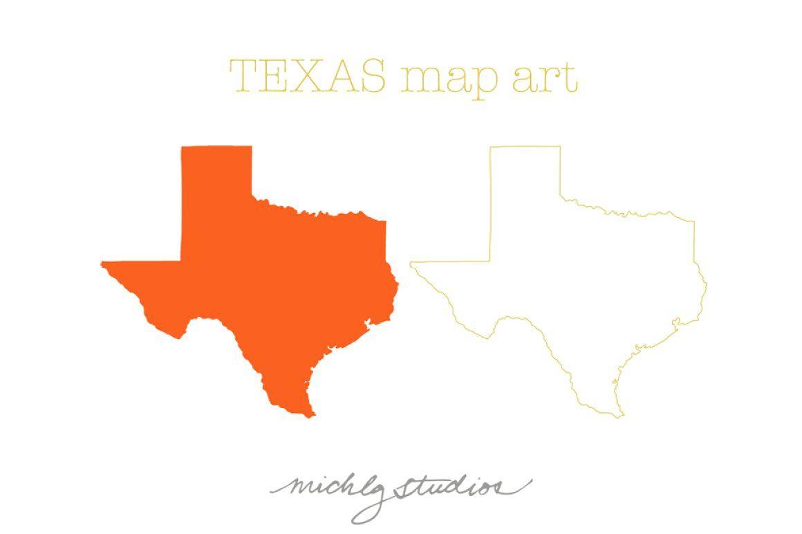 Links To Printable Maps Texas Map Map Art Map