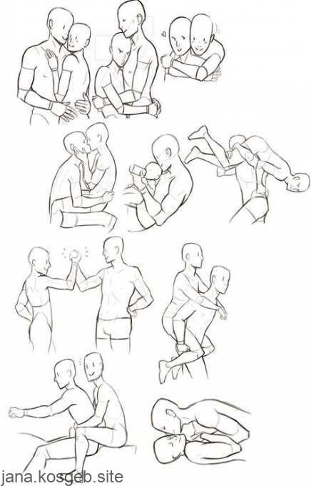 Drawing couple poses hug 56 super ideas - #superideen # hug #poses #drawing - #drawingsCouple