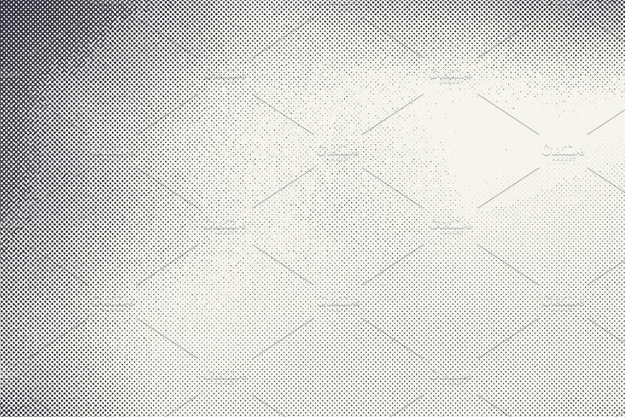 Retro Halftone Textures Halftone Texture Retro