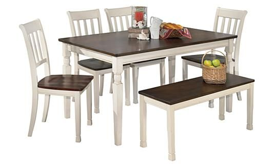 Whitesburg Dining Table Ashley Furniture For My New Kitchen Rectangular Dining Room Table Dining Room Table Rectangular Dining Table