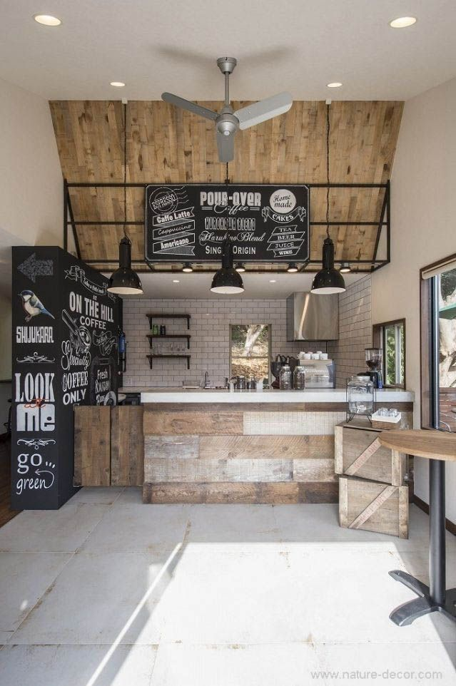 27 Creative Diy Coffee Bar Ideas For Your Cozy Home Coffee Shops Interior Coffee Shop Design Cafe Interior Design