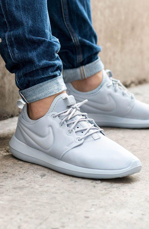 Roshe Two 'Wolf Grey'   Calzado hombre, Zapatos de moda