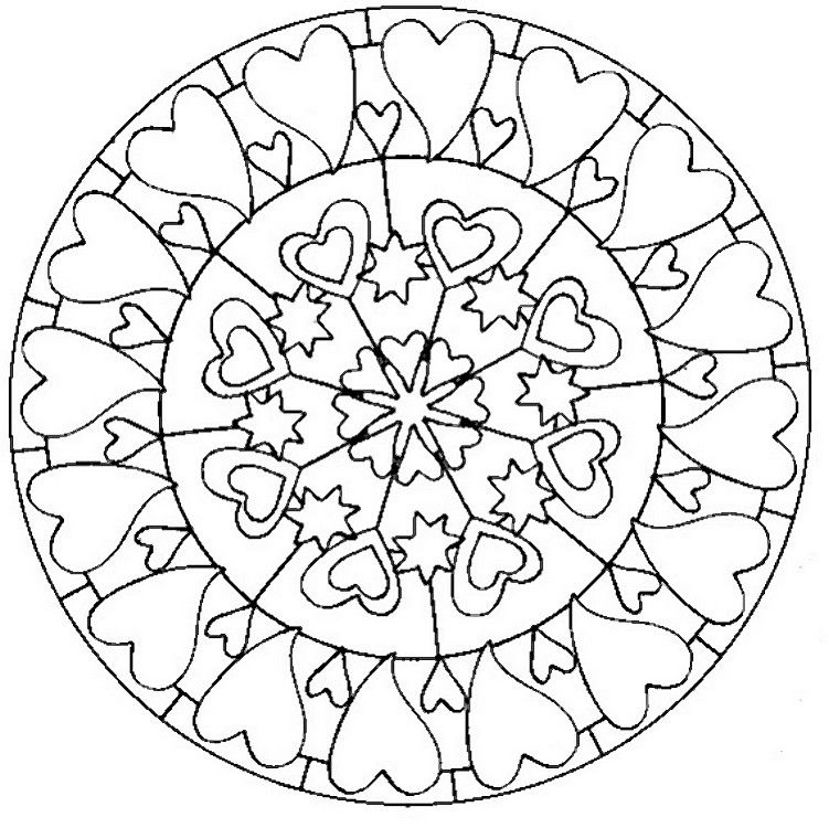 Mindful Adult Coloring About Love | ADULT COLORING PAGES ...