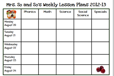 Sea Bears Kindergarten FREE Lesson Plan Template For The - Free kindergarten lesson plan template