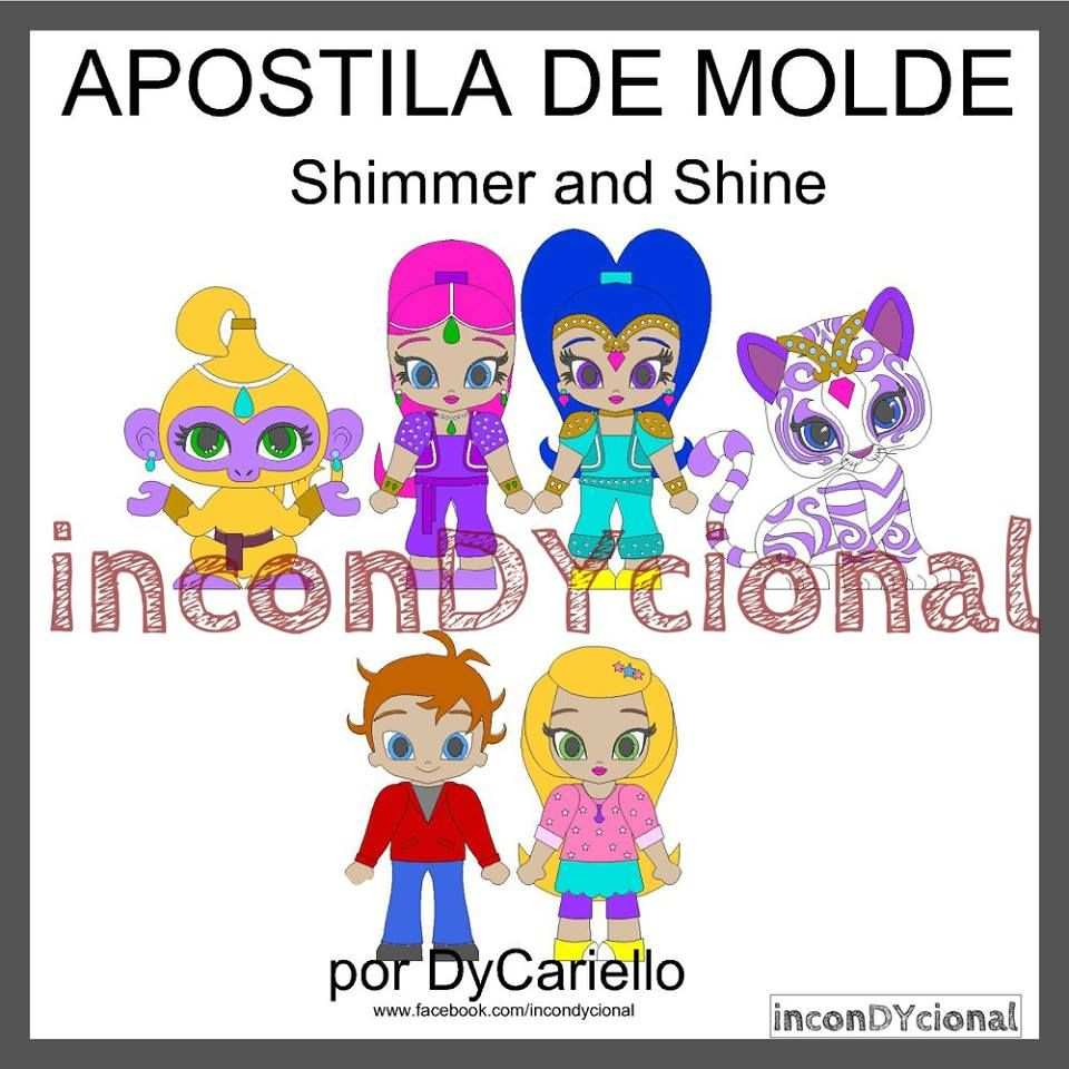>> Apostila digital de moldes da Shimmer and Shine [conforme imagem], para ser feito em feltro/tecido.  >> Vem com os personagens que estão na imagem! Nesta mesma posição! http://incondycional.iluria.com/pd-44d74a-apostila-digital-de-moldes-da-shimmer-and-shine.html?ct&p=1&s=1