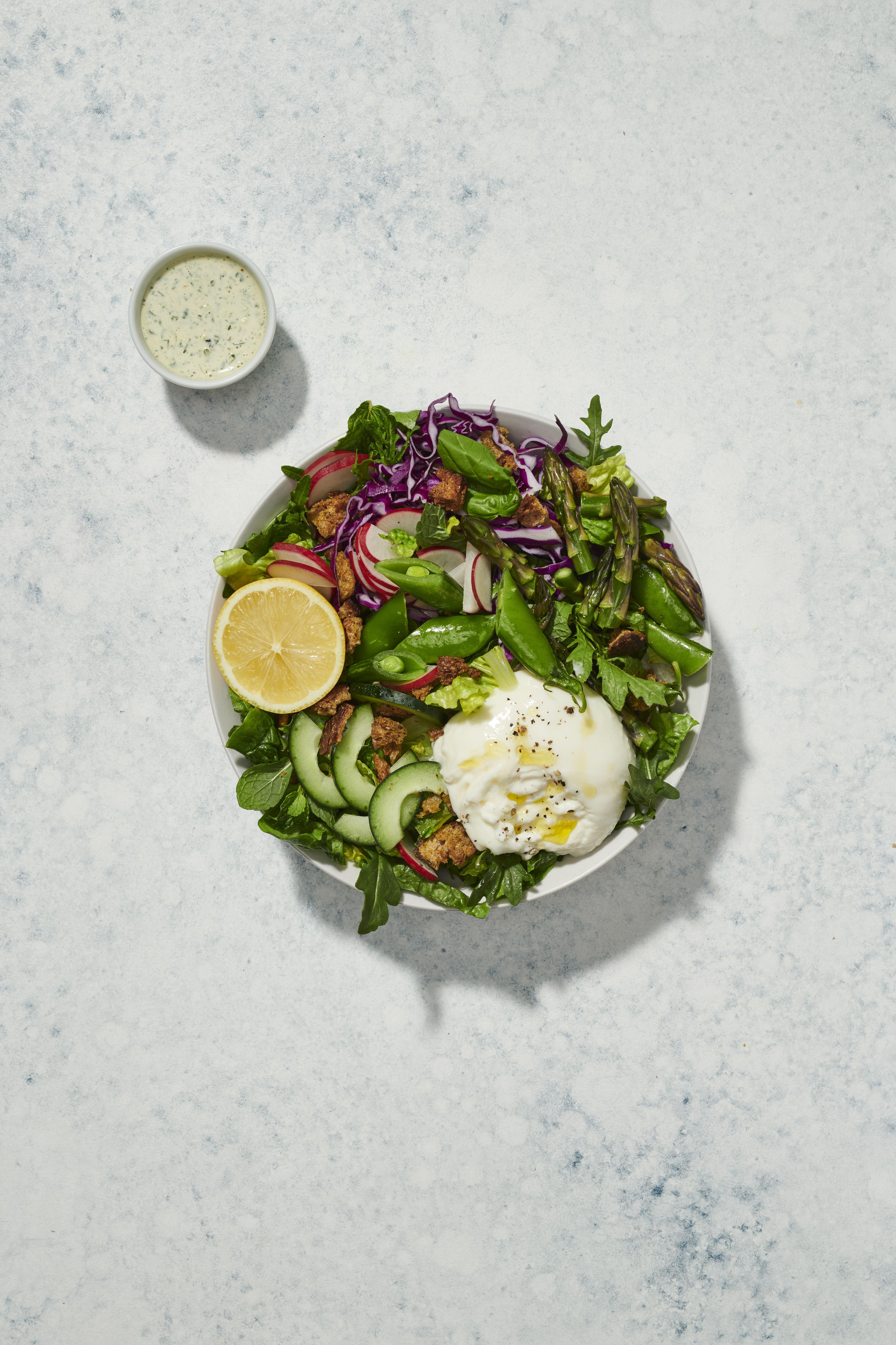 Green Goddess Burrata Salad Sweetgreen Burrata Salad Food Healthy [ 8256 x 5504 Pixel ]