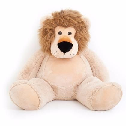 Giant Lion Stuffed Animal Over 4 Feet Tall Products Lions Animals