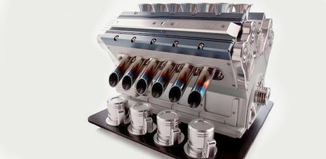 Cafeteira motor V12