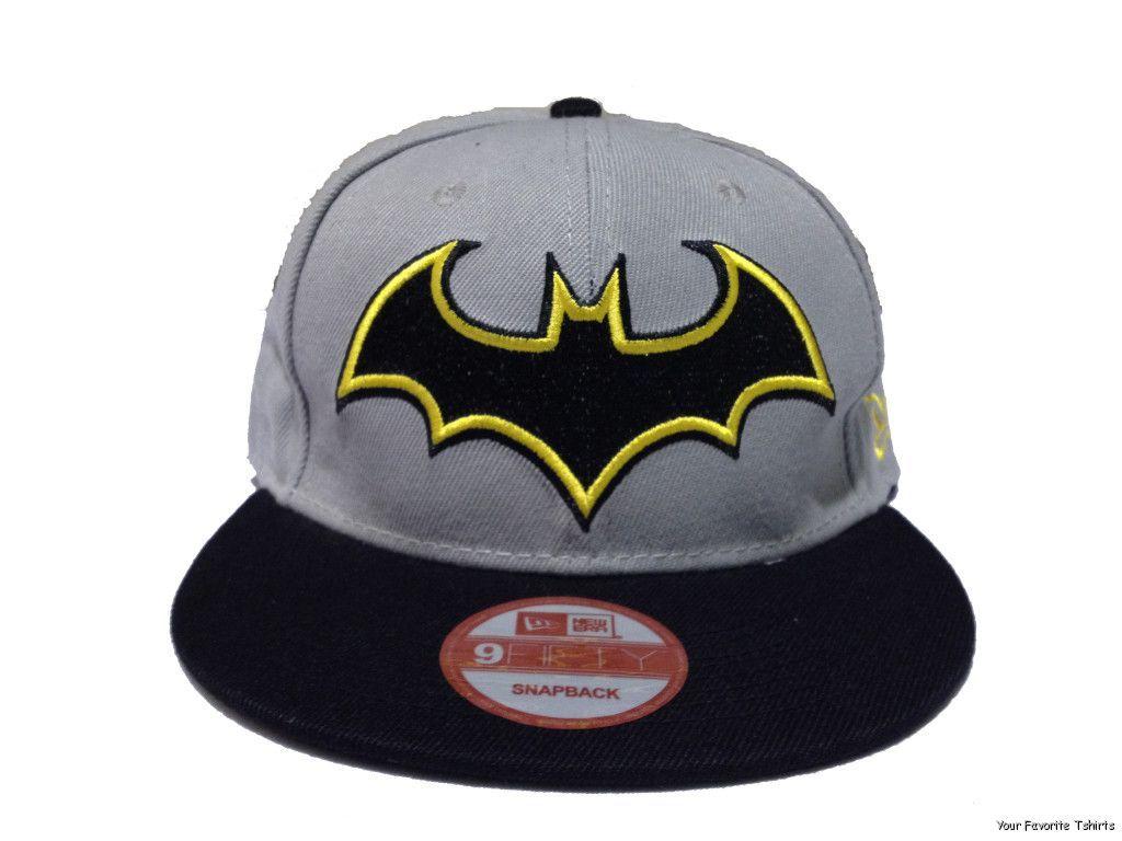 1673b41567ef6 Batman Symbol Hush Logo DC Comics Officially Licensed Snapback Cap ...